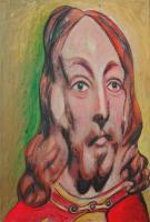 "C.W. Carson ""Distorted Portrait"""