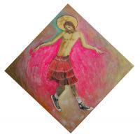 "C.W. Carson ""Diamond Dancing Jesus 2"""
