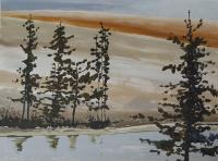 "Leslie Poole ""Foliage & Water"""