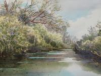 """Hilary Prince """"Kruger Park River II"""""""
