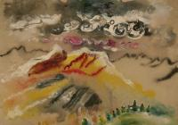 "Michael Matthews ""Untitled (landscape II)"""