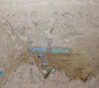 "Michal Matthews ""Upper Dunbar Lakes, 1st Snow 2005 - 2007"""