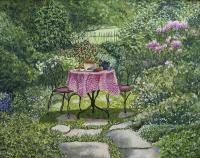 "Shirley Emeny ""Tea in the Garden"""
