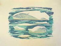 Doris McCarthy: Ice Floes 16/32