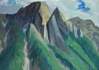 Doris McCarthy: Mount MacDonald