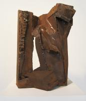 "Peter Hide ""Forest"" 2015 mild steel, welded and rusted 18 x 12.5 x 6.5"" sold"
