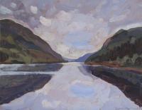 "James MacDonald ""Afternoon Reflections"" 2021 acrylic on birch panel 11 x 14"" | $ 835.00*NEW*"