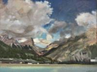 "Jim Davies ""Rundle"" 2020 oil on panel 12 x 16"" *NEW*"